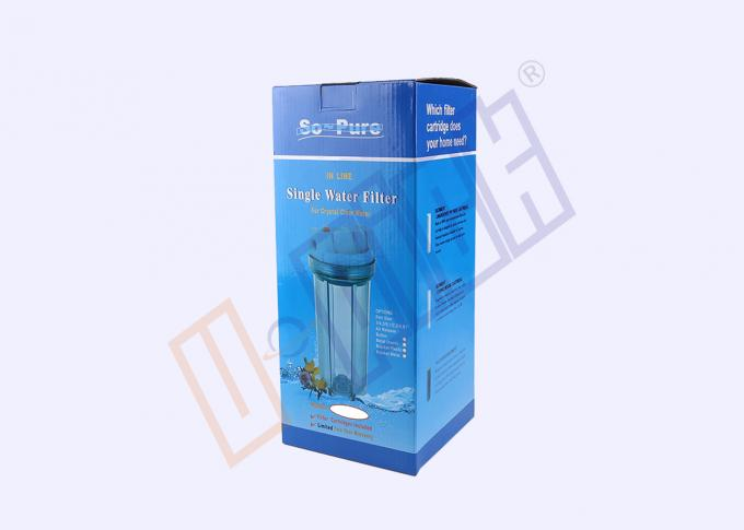 CE Certification Transparent Pre Filter Housing For Household Water Purifier