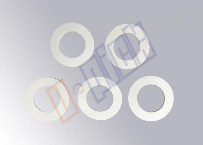 Plastic Injection Filtration Parts / White Rubber Gasket Seal For CTO / UDF Filter