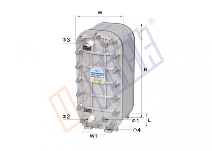 Small / Middle Size Filtration Parts EDI Module For Deeply Desalination Process