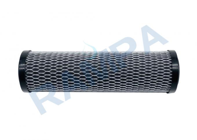 Water Activated Carbon Fiber Cartridge AC Fiber fabric Wrapped Around