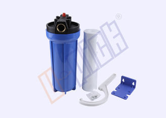 China PVC Silicone PP Filter Housing / Blue Water Filter Housing CE Certification supplier