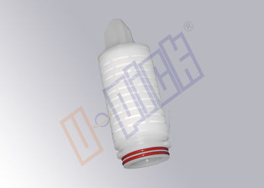 China 0.45 Micron Membrane Filter Cartridge Nylon 66 Material In Beer Production Process supplier