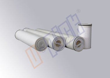China 5 Micron Membrane Filter Cartridge 40 Inch Liquid Filter Cartridge For Factory / Hospital supplier