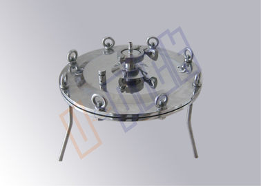 China 316L Small Flow Stainless Steel Filter Housing Sanitary Grade For Laboratory supplier