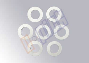 China Plastic Injection Filtration Parts / White Rubber Gasket Seal For CTO / UDF Filter supplier