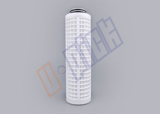 China Flow Rate 5 Inch Filtration Parts / Carbon Filter Cartridge CE Certification supplier