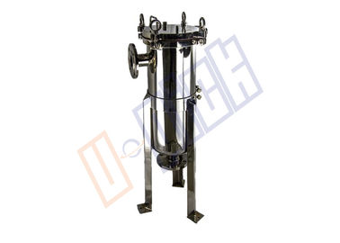 China 316L Stainless Steel Polish 2# Single Bag Filter Housing In Beverage Production Process supplier