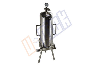 China Sanitary Grade 304 Stainless Steel Filter Housing With Multicore CE Certification supplier