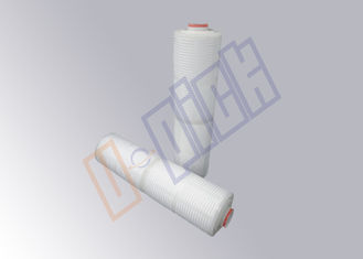 China High Efficiency 20 Inch Membrane Pleated Filter Cartridge In Beer Filtration supplier
