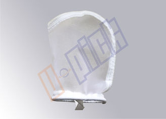 China Food Grade 50 - 300 Micron Nylon Filter Bag Size 3 For Nut Milk Filtration supplier