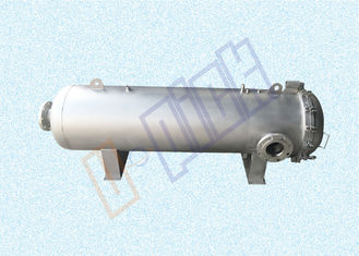 China High Flow Industrial Filter Housing Vertical / Horizontal With Sandblast Surface supplier