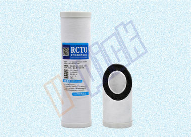 China Compound Cto Pp Activated Carbon Water Filter Cartridge Melt - Blown For Household supplier