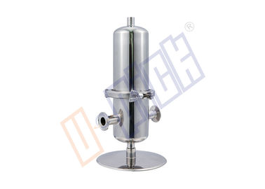 China 30 Inch Air Sterilization Stainless Steel Cartridge Filter Housing Single Core supplier