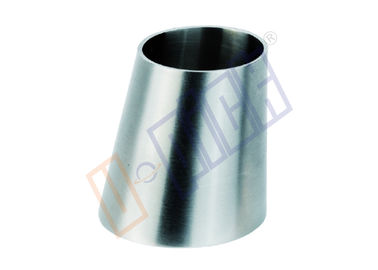 China SUS 316 Stainless Steel Fittings / 304 Stainless Steel Eccentric Reducer For Pipe Connection supplier