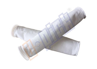 China 10 Micron Liquid Filter Bag Welding Or Sewing Edge For Coarse Filtration supplier