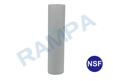 China 3 Micron PP Melt Blown Water Filter Cartridges 10 Inch With NSF Certification supplier