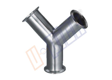 China Standard SUS 304 Stainless Steel Pipe Fittings Y Quick Loading Tee distributor