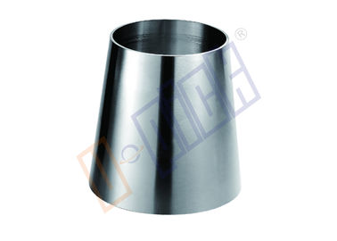 China SUS 304 Stainless Steel Fittings / Stainless Steel Concentric Reducer Sanitary Grade distributor