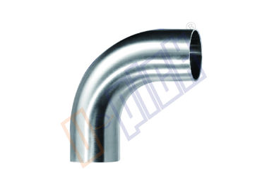 China 304 Stainless Steel Plumbing Fittings 90 Degree Long Elbow For Seawater RO System distributor