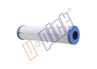 China Seal Washer 5 Micron Water Filter Cartridge / 20 Inch PE Pleated Filter Element distributor